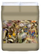 Pow Wow Color Duvet Cover