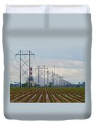 Power And Plants I  Duvet Cover