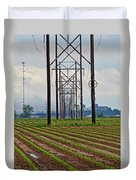 Power And Plants II Duvet Cover