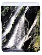 Powerscourt Waterfall, Co Wicklow Duvet Cover
