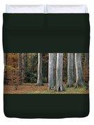 Powerscourt Woods,co Duvet Cover