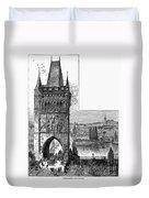 Prague: Carlsbridge Duvet Cover
