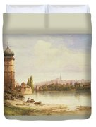 Prague Czechoslovakia Duvet Cover