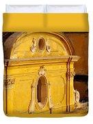 Praiano Church Duvet Cover