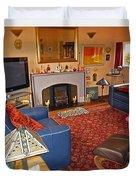 Prairie House Interior Duvet Cover