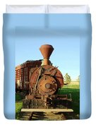 Prairie Train Duvet Cover