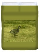 Prarie Chicken At Battle Of Little Bighorn Site Duvet Cover