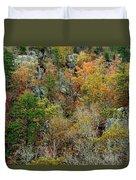 Prarie Hollow Gorge In Autumn Duvet Cover