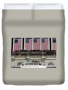 President George W. Bush Makes Duvet Cover by Stocktrek Images