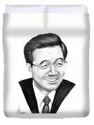 President Hu Jintao Duvet Cover