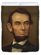 President Of The United States Of America - Abraham Lincoln  Duvet Cover