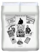 Presidential Campaigns Duvet Cover