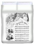Presidents Hymn, 1863 Duvet Cover