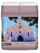Presido Chapel San Elizario Texas Duvet Cover