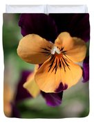 Prettiest Pansy Duvet Cover