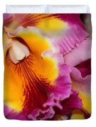 Pretty And Colorful Orchids Duvet Cover