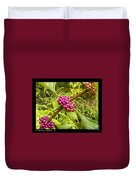 Pretty In Pink Berrys Duvet Cover