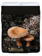 Pretty Mushrooms Duvet Cover