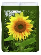 Pretty Sunflower  Duvet Cover