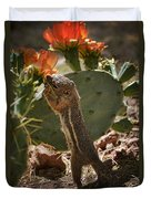 Prickly Lunch  Duvet Cover