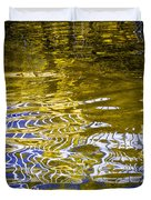 Priest Lake Reflections Duvet Cover