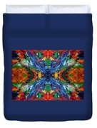 Primary Abstract I Design Duvet Cover