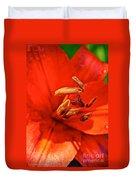 Prime Red Duvet Cover