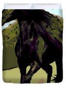 Prince Of Equus Duvet Cover