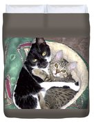 Princess And Little Rocky Duvet Cover