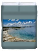 Prismatic Spring Yellowstone Duvet Cover