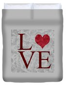 Pristine Love Duvet Cover