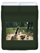 Protective Mad Mama Canadian Goose Duvet Cover
