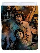 Proud Apache Scouts Duvet Cover