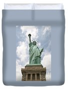 Proudly She Stands Duvet Cover