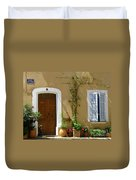 Provence Door 3 Duvet Cover by Lainie Wrightson