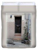 Provence Door Number 33 Duvet Cover
