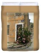 Provence Door Number 9 Duvet Cover