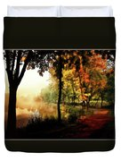 Psychedelic Autumn Duvet Cover