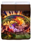 Psychedelic Daze Duvet Cover