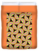 Psychedelic Squares Duvet Cover