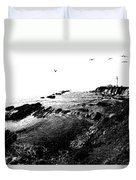 Pt Arena Lighthouse With Effect Duvet Cover