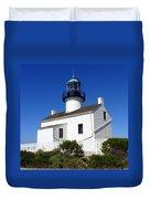 Pt. Loma Lighthouse Duvet Cover