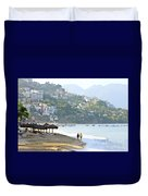 Puerto Vallarta Beach Duvet Cover