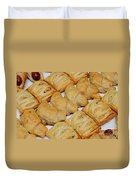 Puff Pastry Party Tray Duvet Cover
