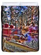 Puffing Billy Duvet Cover