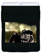Pug Duvet Cover