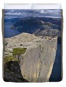 Pulpit Rock Duvet Cover