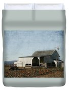 Pumpkin Farm Duvet Cover