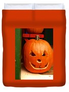 Pumpkin Man Duvet Cover