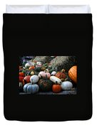 Pumpkin Piles Duvet Cover